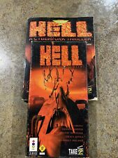 Hell: A Cyberpunk Thriller (3DO, 1994) Plus The Official Strategy Guide