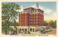 Waycross, GEORGIA - 1940 - Hotel Ware - ARCHITECTURE