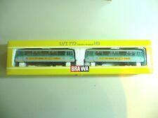 BRAWA SCHIENENBUS & TRAILER CAR 972 201-8 - HO