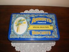 ARNOTT'S  VINTAGE 1987 BISCUIT TIN - ARNOTT'S FAMOUS SPECIAL SELECTION BISCUITS