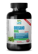 Oregano Oil 1500mg - Dietary Supplement Digestive, Respiratory & Joint Health 1B