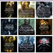 The Witcher Book Series by Andrzej Sapkowski