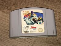 Clay Fighter 63 1/3 Nintendo 64 N64 Cleaned & Tested Authentic