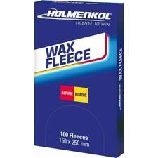 Holmenkol Iron Hot Wax Fleece Ski and Snowboard iron Fleece Waxing Sheet