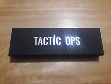 Tactic Ops Tactical Self Defense Pen NEW LED flashlight window punch survival