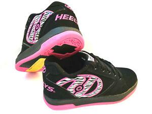 Heelys Propel 2.0 black/hot pink/ Zebra Schuh Rollen Heelies Sneakers Gr. 36,5