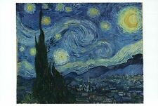 The Starry Night by Vincent Van Gogh Classic Art Painting Card - Modern Postcard