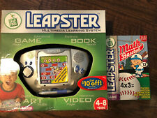 Leap Frog Leapster Multimedia Learning Syst. W/ 1 Math Baseball NEW