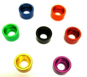 M6 x 15mm Cup Washer - Anodised Aluminium - Various Colours