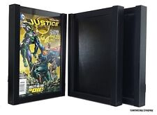 Comic Book Display Frame Case Shadow Box Black Magazine Lot of 3 A