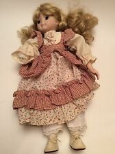"Vintage 15"" Porcelain Doll 1980's (parts / Repair)"