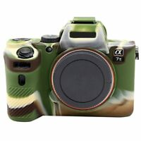 Silicone Camera Protect Body Cover Case Bag Skin For Sony A7II A7R Mark 2 A7RII