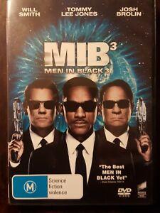 MEN IN BLACK 3 - MIB3 - DVD  R4  WILL SMITH,  JOSH BROLIN    VGC - FREE POST