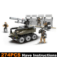Call of Duty Military UAV Cannon Soldiers Fit WW2 Mega Construx Lego MiniFigures