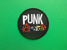 HEAVY METAL PUNK ROCK MUSIC FESTIVAL SEW ON / IRON ON PATCH:- PUNK ANARCHY