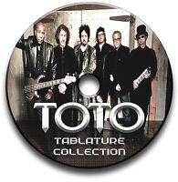 TOTO ROCK GUITAR TABS TABLATURE SONG BOOK ANTHOLOGY TUITION SOFTWARE CD