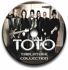 TOTO ROCK CHITARRA schede tablature SONG BOOK ANTHOLOGY universitarie CD software