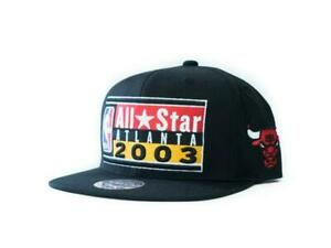 New Mitchell & Ness 2003 NBA All Star Atlanta Michael Jordan Chicago Bulls Hat