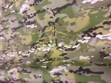 "5mts of 60"" wide MULTI CAM camouflouge cordura waterproof fabric"
