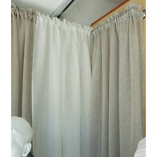 Sheer linen fabric by the meter for curtains, sheer linen by the yard grey linen