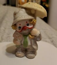 "New ListingLi'l Vagabond Enesco Clown Figurine ""Shower Me with Love�"