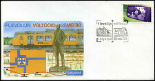 Netherlands 1988 Railway, Train Cover #C36193