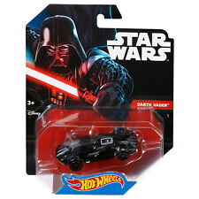 Hot Wheels de Mattel Diecast Escala 1:64 de Star Wars Darth Vader coche de caracteres (DTB03)