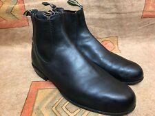 RM Williams Boots Chelsea Black Round Toe Sz Aus/UK 8 | US 9  F(Narrow)