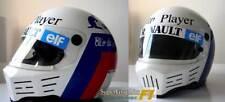 Helmet Visor Sticker to fit Renault DeAngeli F1 Racing Team Fan Black and Blue