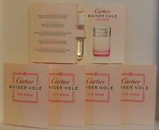 Baiser Volé Lys Rose de Cartier Eau de Toilette lot de 5 Echantillons soit 7,5ml