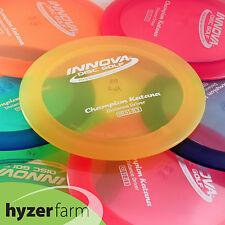Innova CHAMPION KATANA  *pick your color and weight* Hyzer Farm disc golf driver