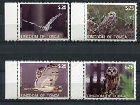 Tonga 2012 Eulen Owls Vögel Birds 1793-1796 Postfrisch MNH