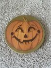 Longaberger Pumpkin Patch October Fields Basket Jack O Lantern PUMPKIN FACE LID