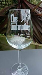 The Godmother Engraved Personalised Glass - Choice of Glasses