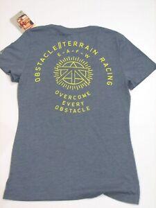 Reebok Spartan Race T Shirt Women's V Neck S