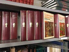 B61 LA LETTERATURA ITALIANA edizioni Laterza 9 volumi con cofanetto incompleta