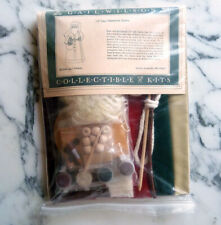 "New unassembled Gail Wilson doll kit 13"" Primitive Santa Christmas series No Rsv"