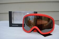 2017 NIB ELECTRIC CHARGER SNOWBOARD GOGGLES $85 red brose/silver chrome