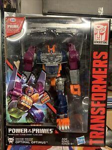 Transformers Power Of The Primes POTP Leader Class Optimal Optimus Primal NEW
