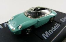 "Porsche Panamericana ""AMS"" mintgrün r+h in PC-Vitrine 1:87 H0 ohne OVP [BA13]"