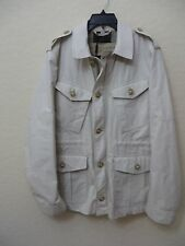 >New Burberry Brit Mens Pale Stone Jacket Size XL MSRP $ 895.00