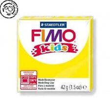 Pâte Fimo Kids jaune N° 1