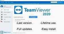 TeamViewer 15.1 - Full updates - Lifetime license - Remote desktop software