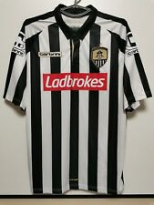 SIZE L NOTTS COUNTY 2015-2016 HOME FOOTBALL SHIRT JERSEY