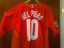 Juventus away Maglia shirt 2005-06 Del Piero 10 VGC with scudetto shield Serie A