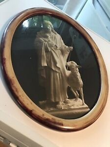 Antique Religious Framed Picture