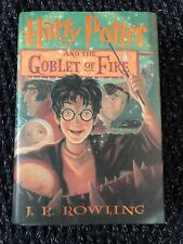Harry Potter and the Goblet of Fire. Book 4. 1st/1st. Mint!