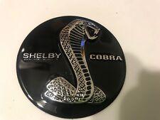 2010 2011 2012 2013 2014 FORD MUSTANG SHELBY COBRA STEERING WHEEL CENTER EMBLEM