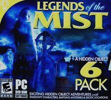 Legends Of The Mist 6 Pack hidden object PC Games Windows 10 8 7 XP Computer NEW