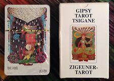 Vintage Gipsy Tarot Tsigane Card Deck 1982 Zigeuner Gypsy Walter Wegmuller